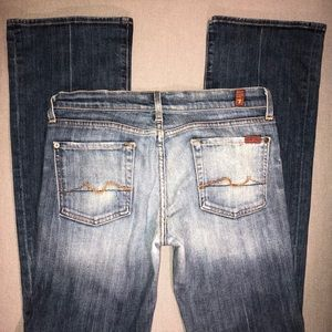 7 For All Mankind • Bootcut Jeans • Great Wash!
